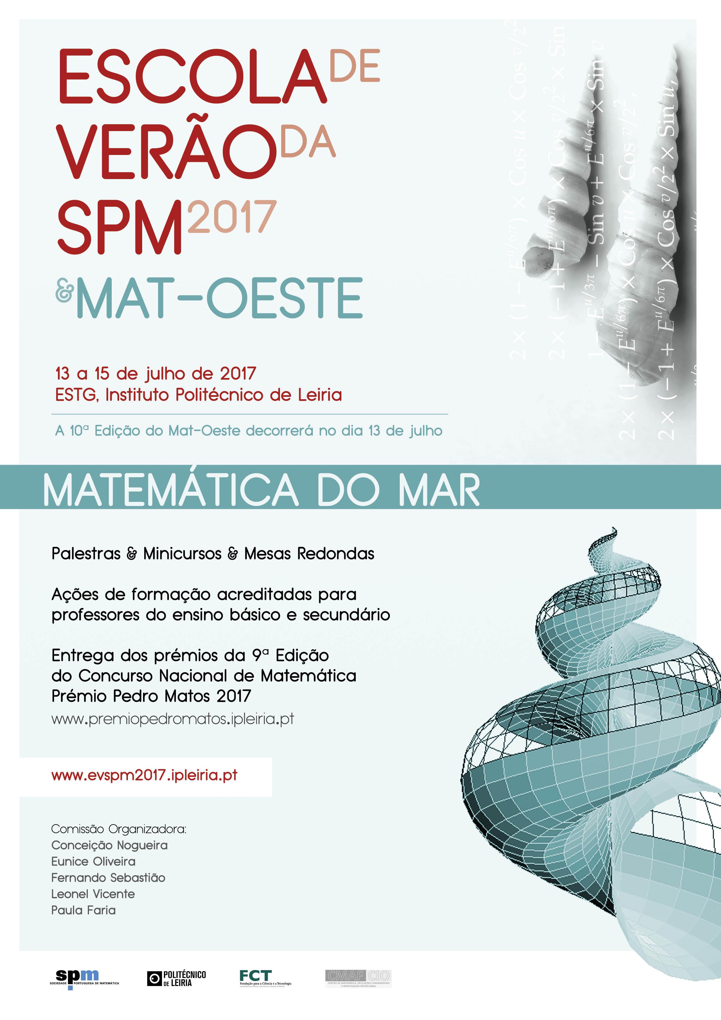 Cartaz - Escola Verao SPM & Mat-Oeste 2017 - Versão Final